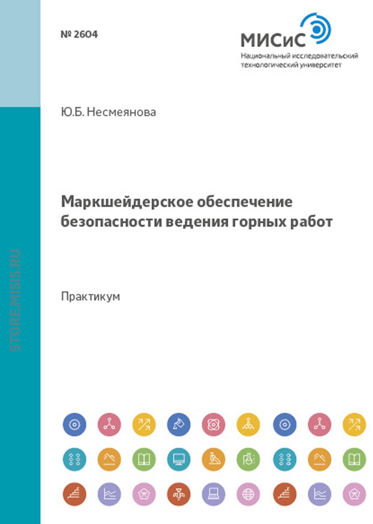Юлия Несмеянова Маркшейдерское обеспечение безопасности ведения горных работ