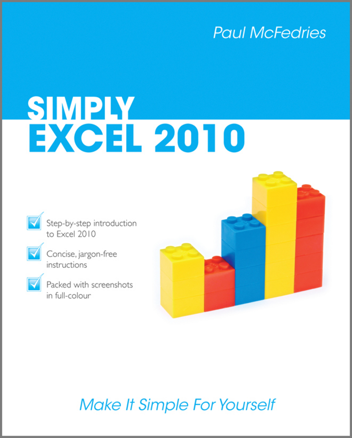 Paul McFedries Simply Excel 2010
