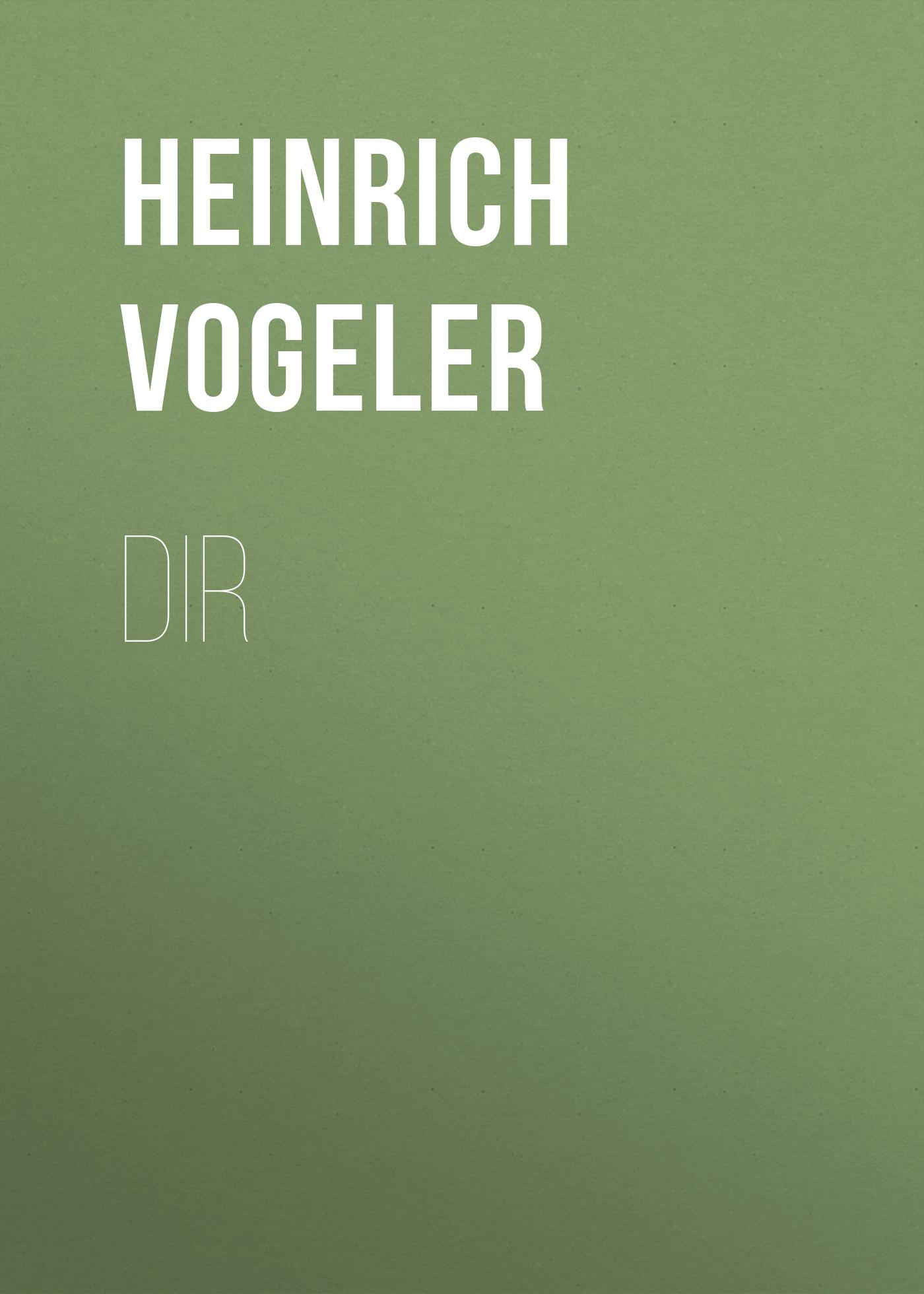 Heinrich Vogeler DIR
