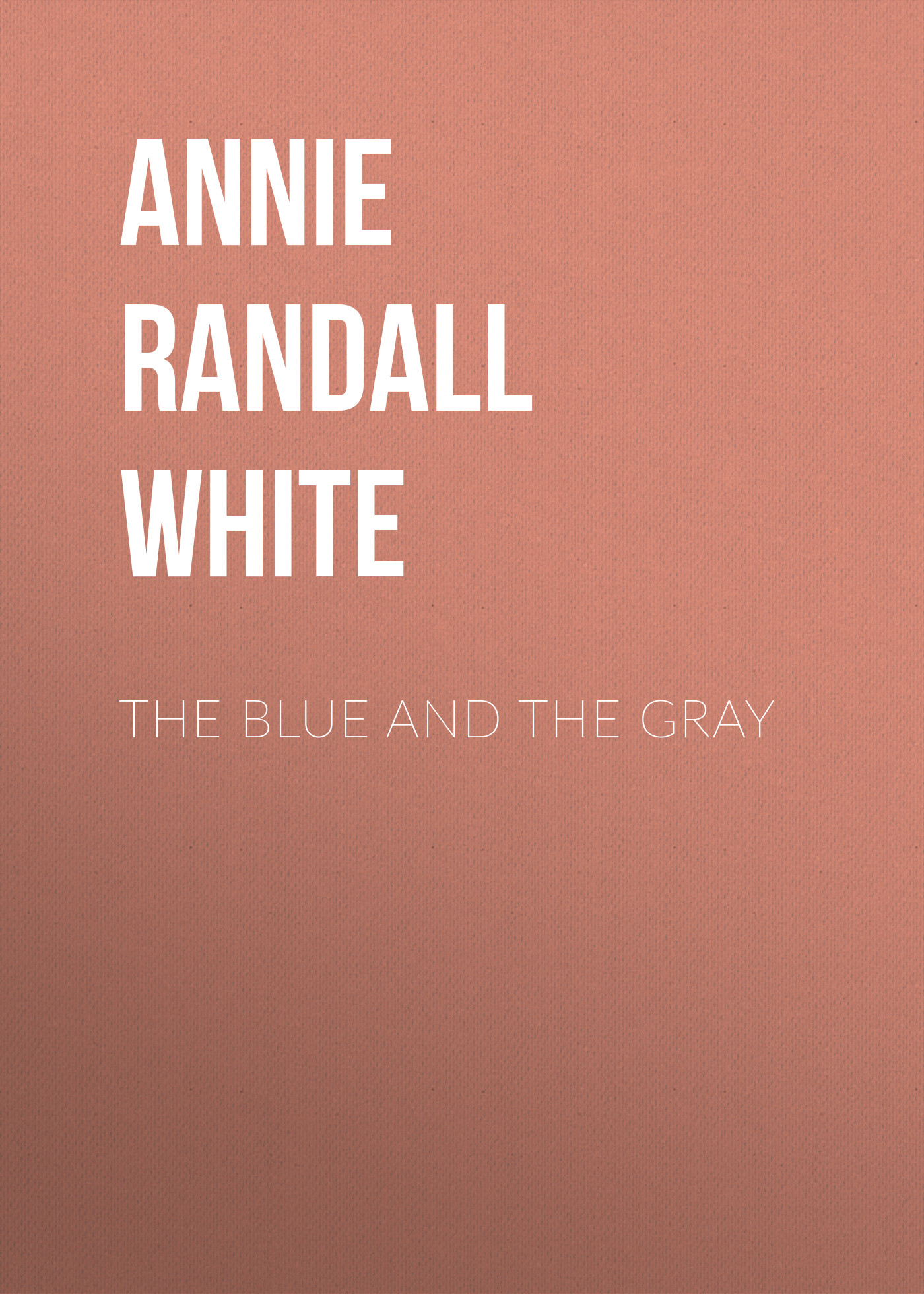 Annie Randall White The Blue and The Gray 18 5 dark gray and light gray and white and transparent holographic rear projection film