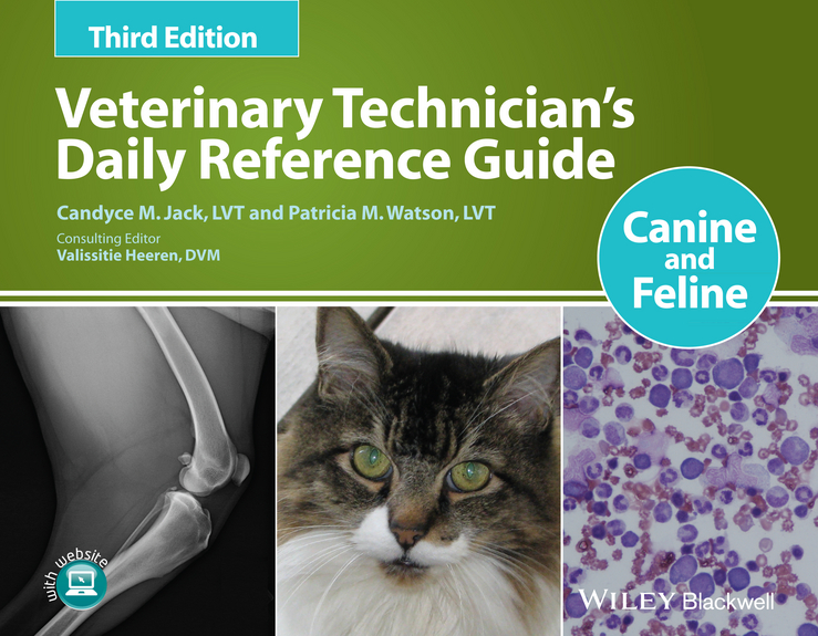 лучшая цена Valissitie Heeren Veterinary Technician's Daily Reference Guide. Canine and Feline