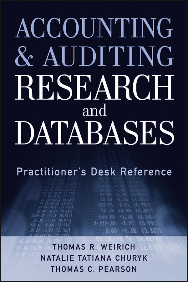 Thomas Weirich R. Accounting and Auditing Research and Databases. Practitioner's Desk Reference inventory accounting