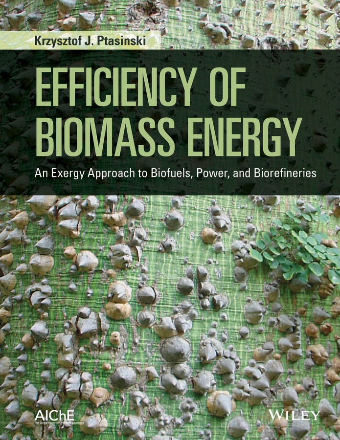 Krzysztof Ptasinski J. Efficiency of Biomass Energy. An Exergy Approach to Biofuels, Power, and Biorefineries