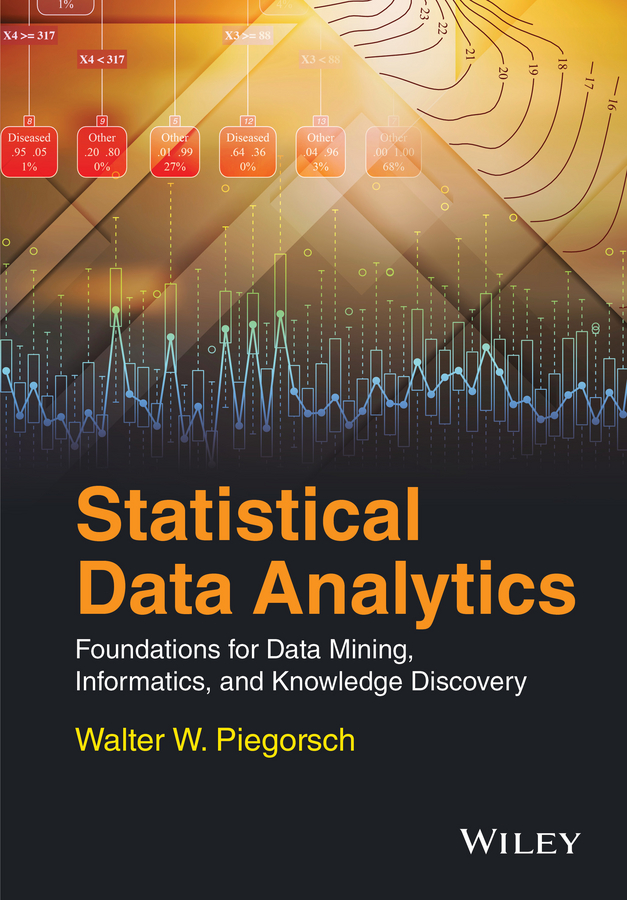 Walter Piegorsch W. Statistical Data Analytics. Foundations for Data Mining, Informatics, and Knowledge Discovery uni t ut139a true rms digital multimeter auto manual range ac dc amp volts ohm tester with data hold ncv and battery test
