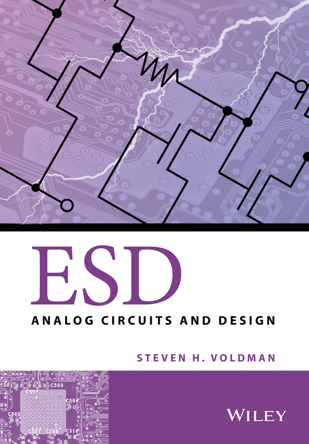 Фото - Steven Voldman H. ESD. Analog Circuits and Design concise colour block and circle pattern design men s slippers