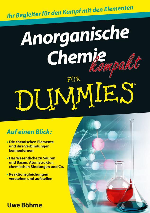 цены Uwe Böhme Anorganische Chemie kompakt für Dummies