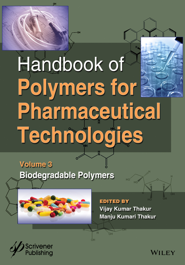 лучшая цена Vijay Thakur Kumar Handbook of Polymers for Pharmaceutical Technologies, Biodegradable Polymers