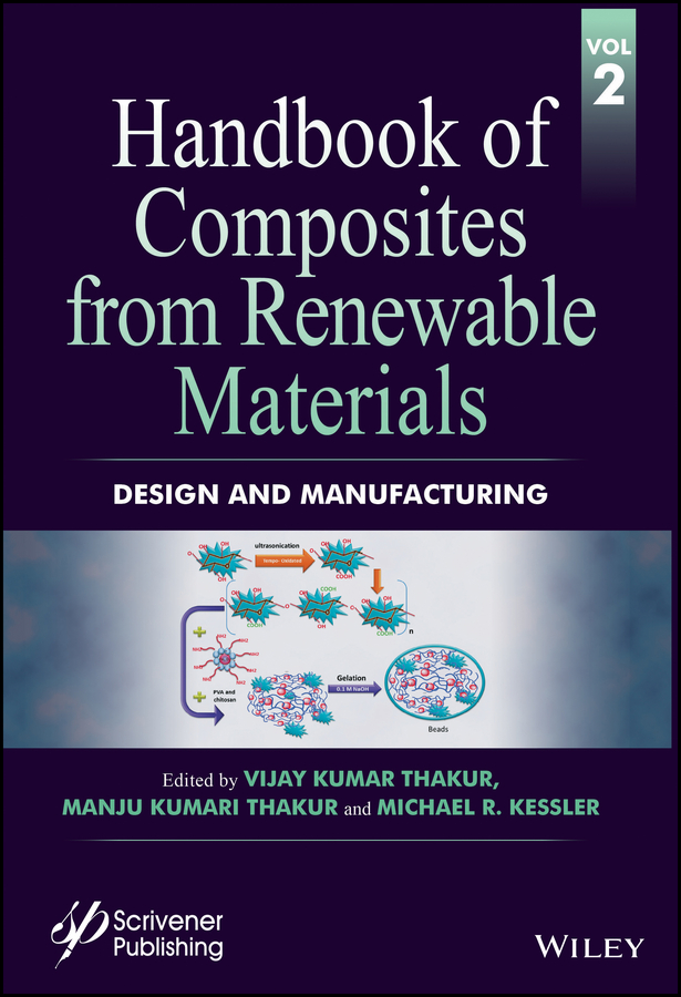 Vijay Thakur Kumar Handbook of Composites from Renewable Materials, Design and Manufacturing vijay thakur kumar handbook of composites from renewable materials functionalization