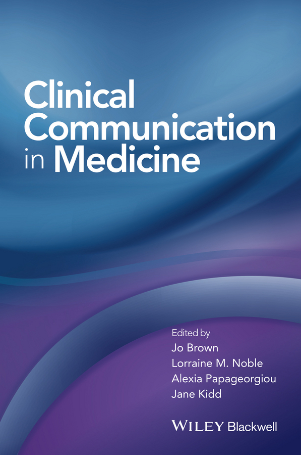 Jo Brown Clinical Communication in Medicine h g widdowson teaching language as communication