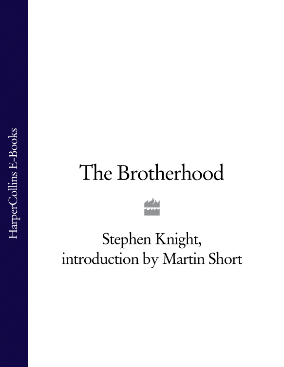 Martin Short The Brotherhood the book and the brotherhood