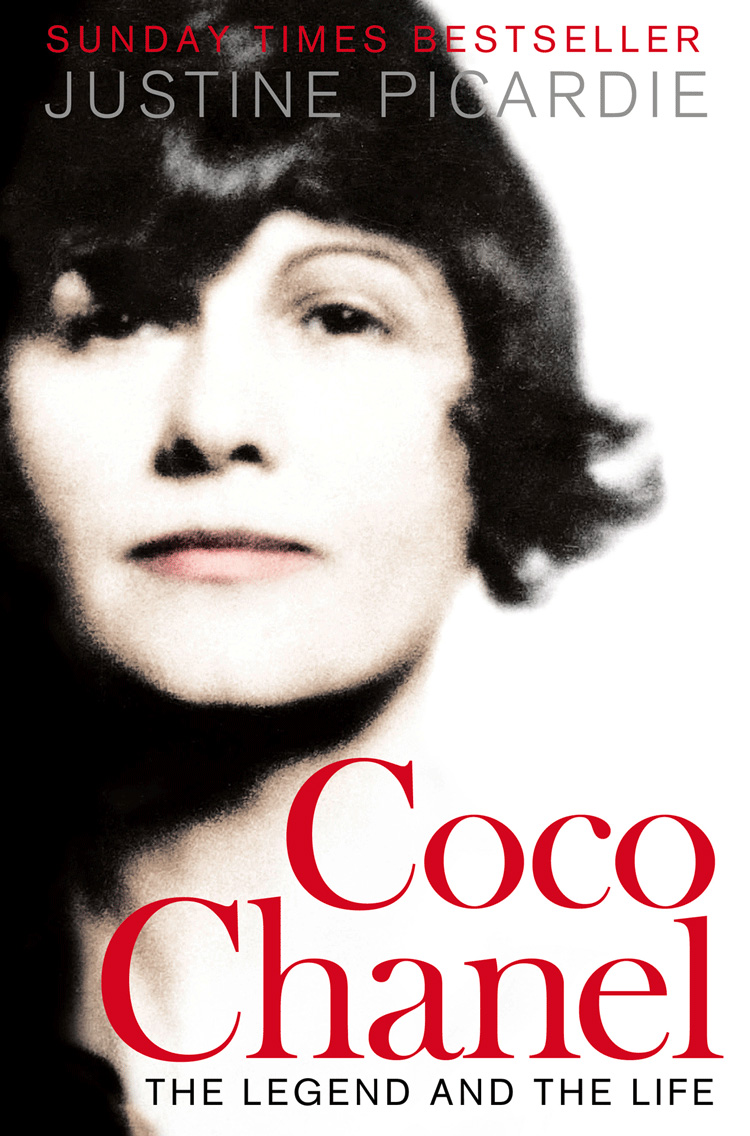 Justine Picardie Coco Chanel: The Legend and the Life coco chanel