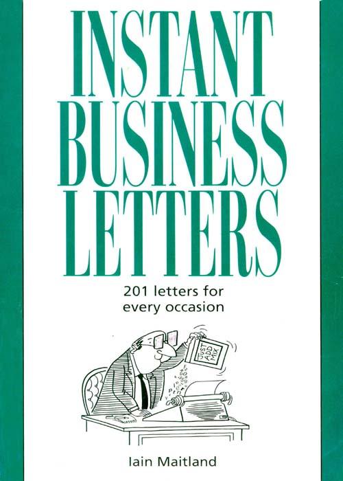 Iain Maitland Instant Business Letters iain pardoe applied regression modeling