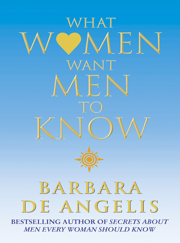 цены на Barbara Angelis De What Women Want Men To Know в интернет-магазинах