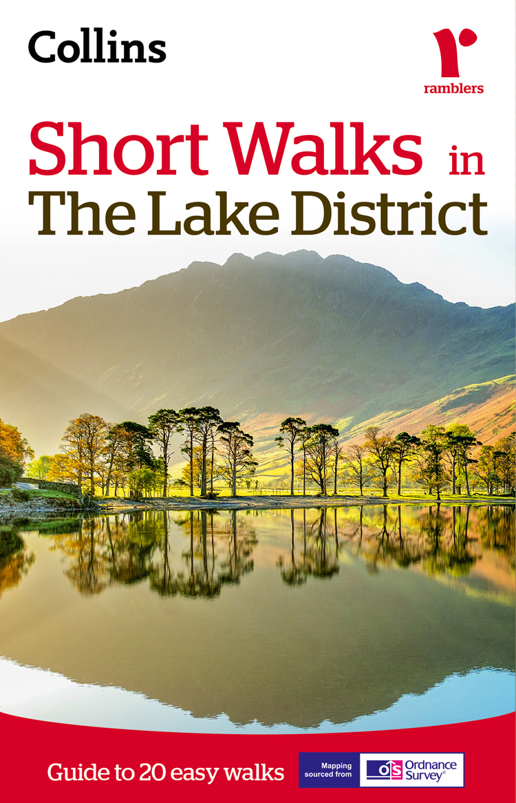 Collins Maps Short walks in the Lake District collins maps short walks in cornwall