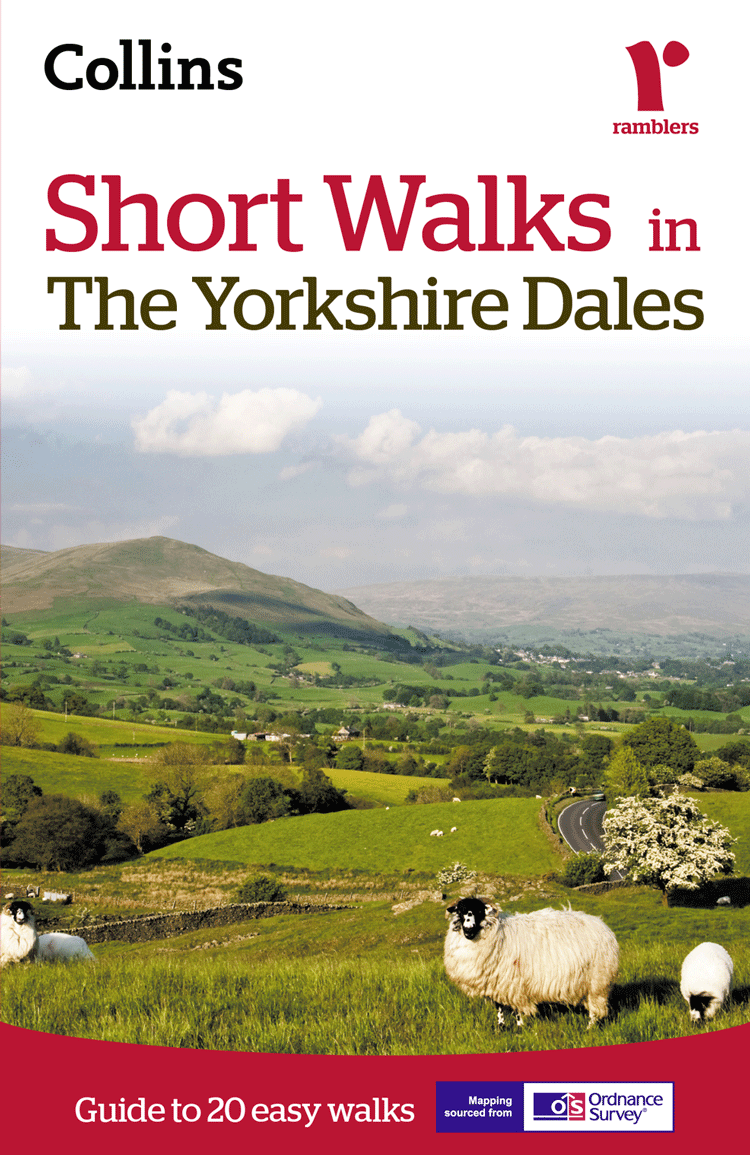 Collins Maps Short walks in the Yorkshire Dales collins maps short walks in cornwall