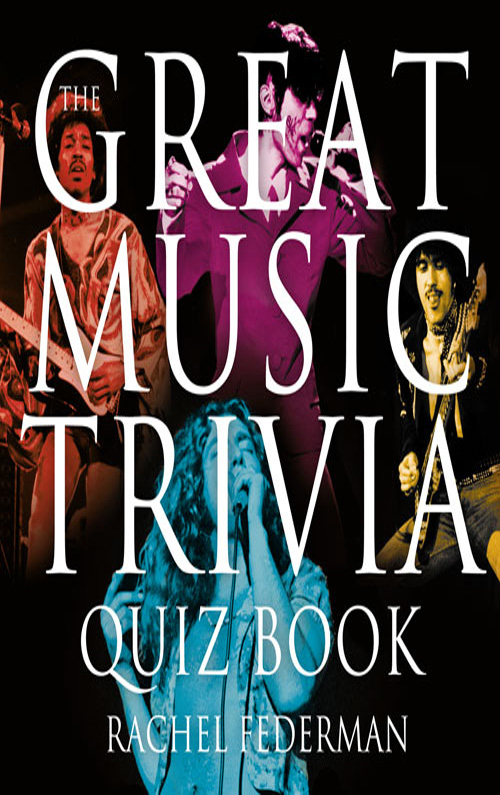 Rachel Federman The Great Music Trivia Quiz Book lovebook the quiz book for couples