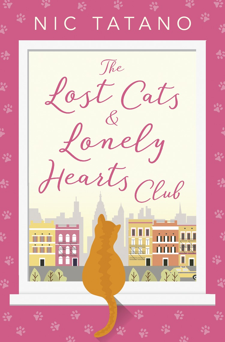 Nic Tatano The Lost Cats and Lonely Hearts Club: A heartwarming, laugh-out-loud romantic comedy - not just for cat lovers! jenny and the cat club