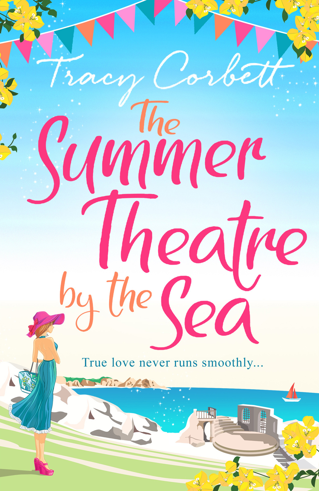 Tracy Corbett The Summer Theatre by the Sea: The feel-good holiday romance you need to read this 2018 cafe by the sea