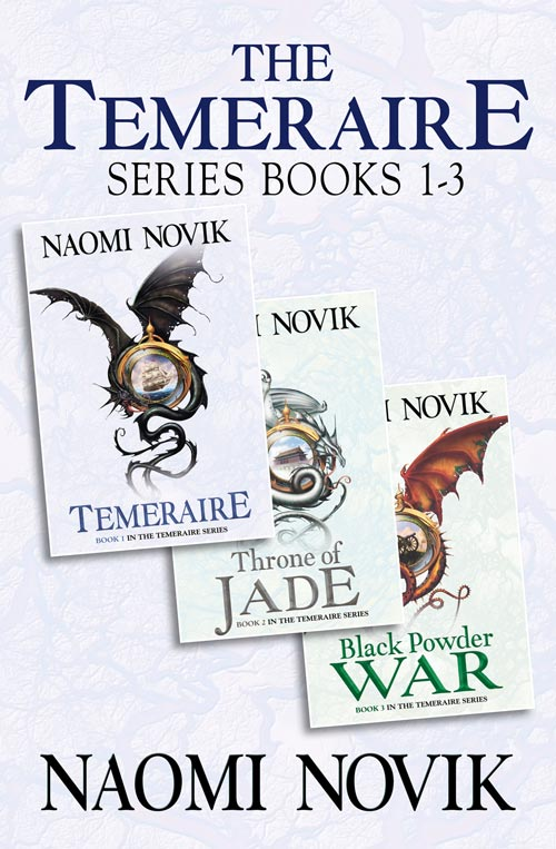 Naomi Novik The Temeraire Series Books 1-3: Temeraire, Throne of Jade, Black Powder War qing dynasty emperor and empress yellow dragon costume sets for couple with delicate embroidery for movie lady in the portrait