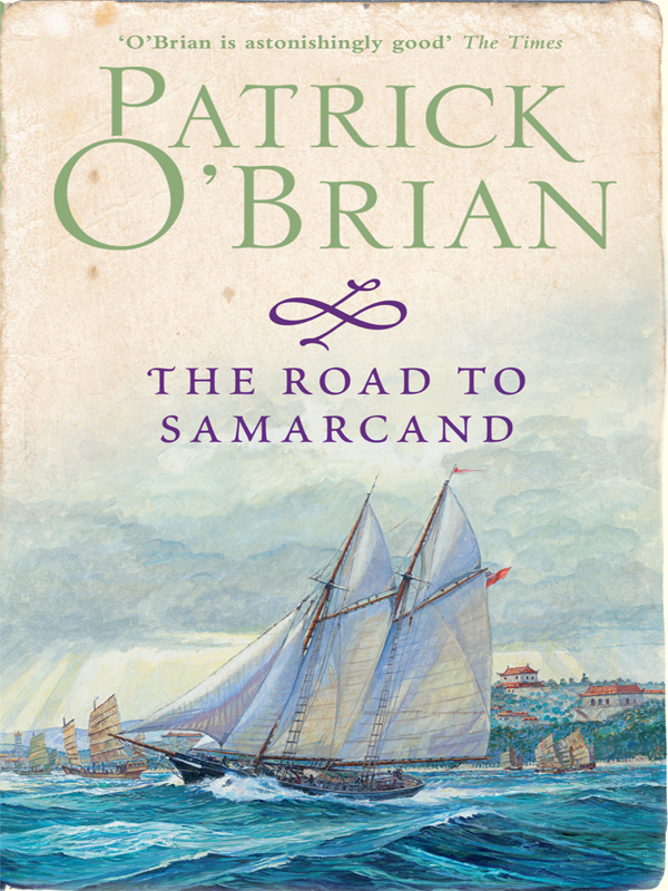 лучшая цена Patrick O'Brian The Road to Samarcand