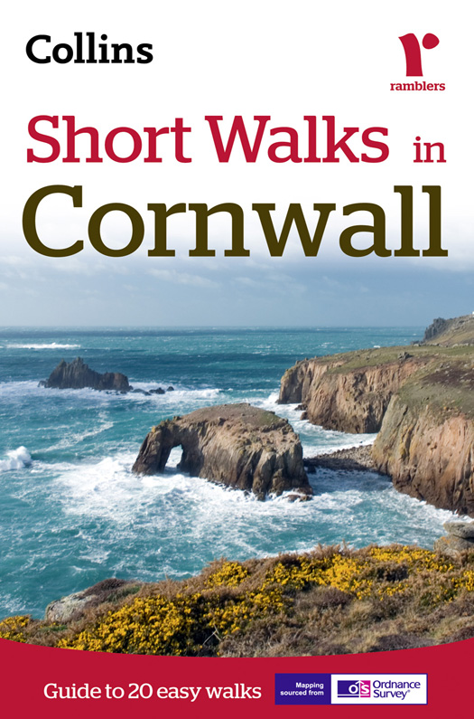Collins Maps Short Walks in Cornwall collins maps short walks in cornwall
