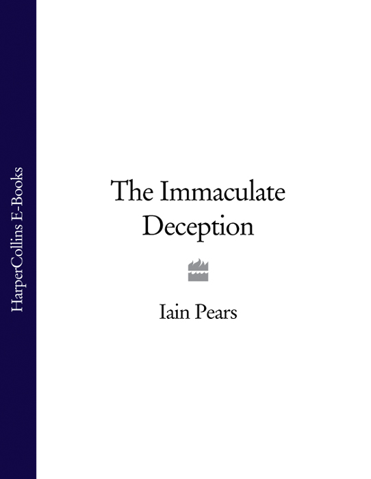 Iain Pears The Immaculate Deception drying of pears