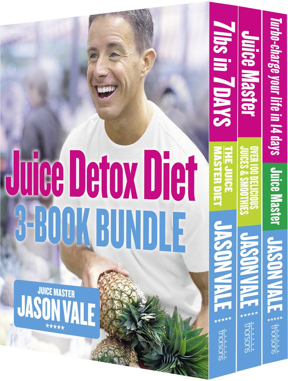 Jason Vale The Juice Detox Diet 3-Book Collection vale 3 teachers book