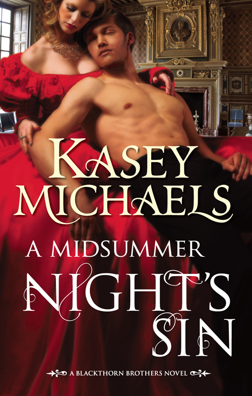 Kasey Michaels A Midsummer Night's Sin коврик iddis curved lines 400a580i12