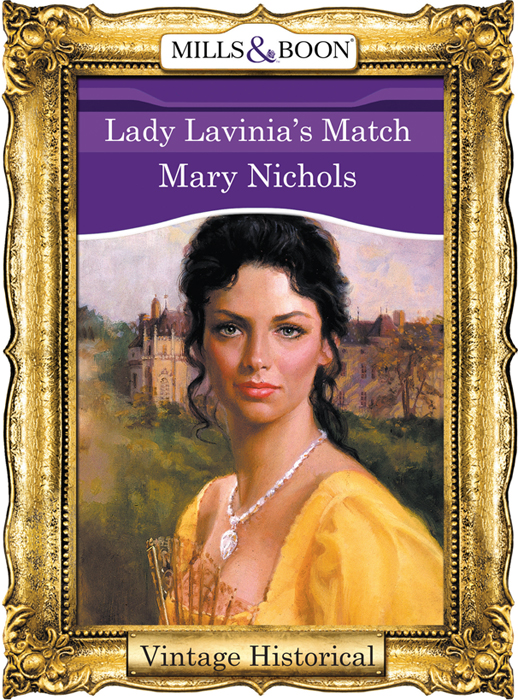 Mary Nichols Lady Lavinia's Match allen james lane sister dolorosa and posthumous fame