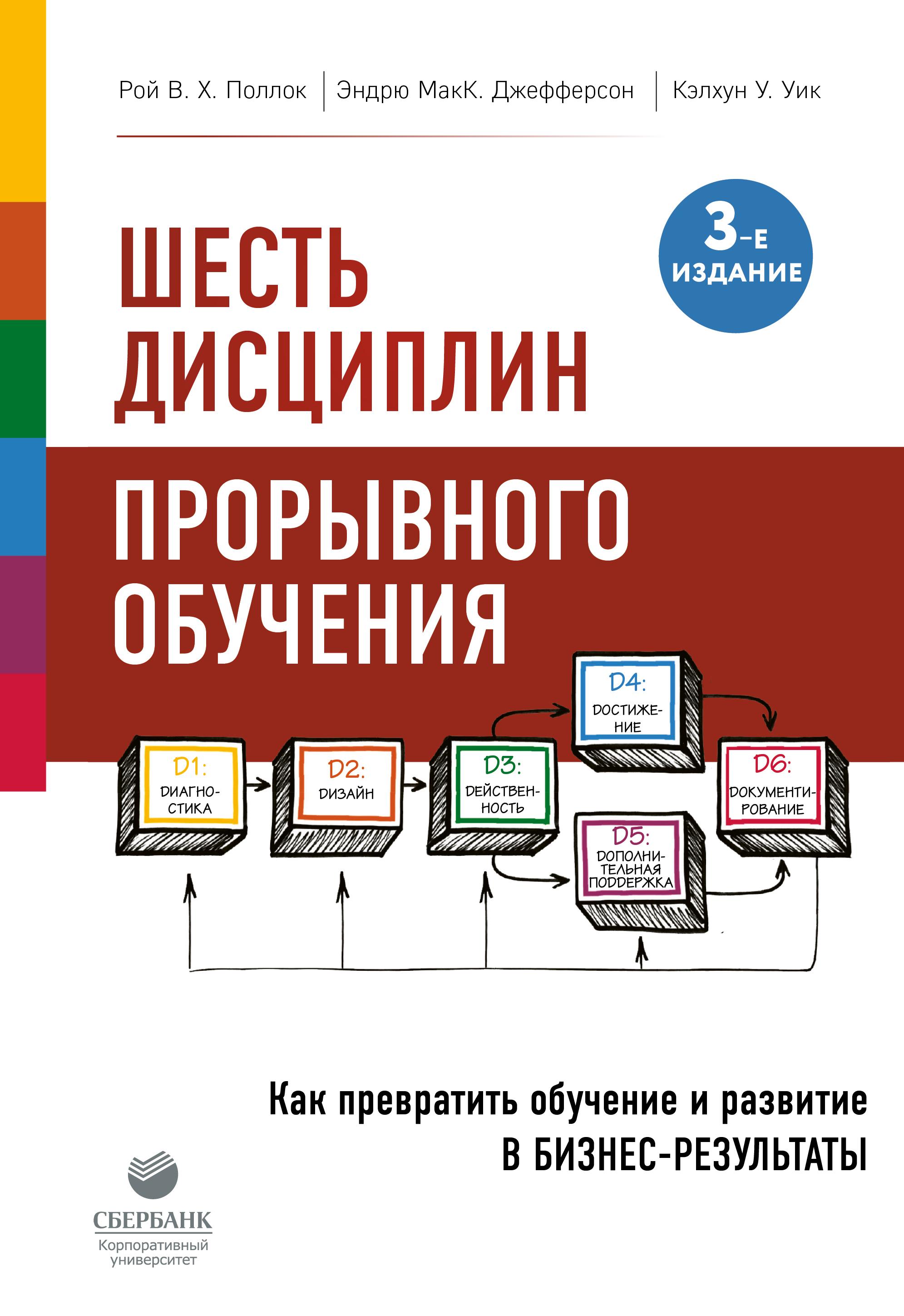 Обложка книги Шесть дисциплин прорывного обучения. Как превратить обучение и развитие в бизнес-результаты