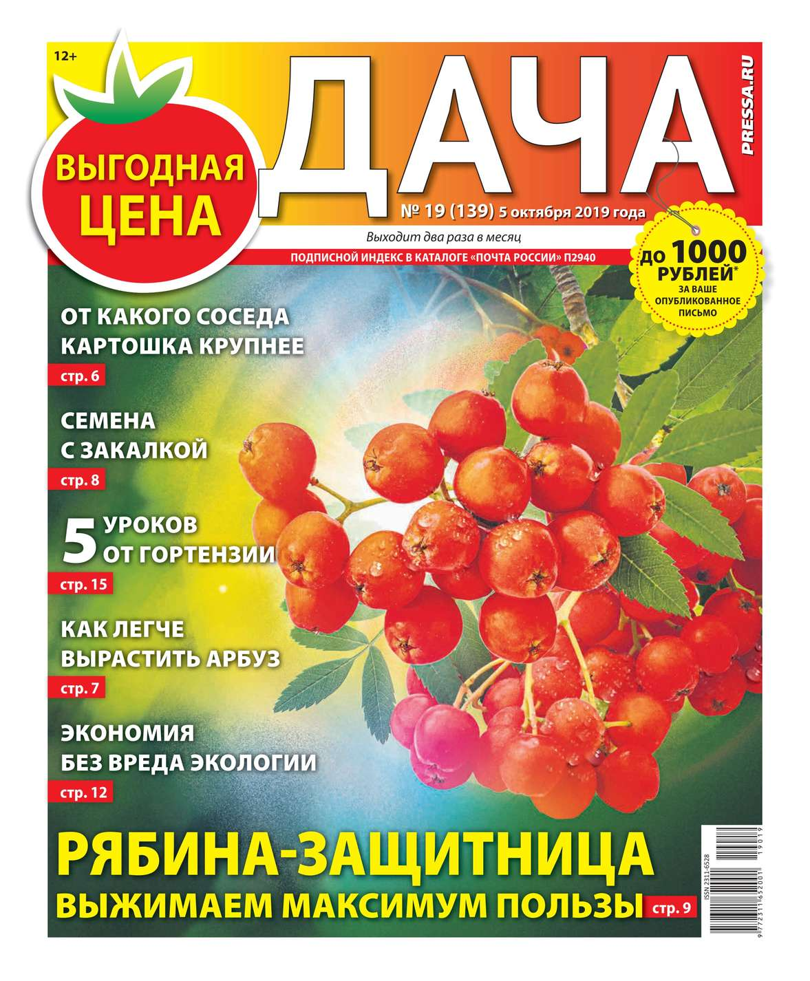 Дача Pressa.ru 19-2019