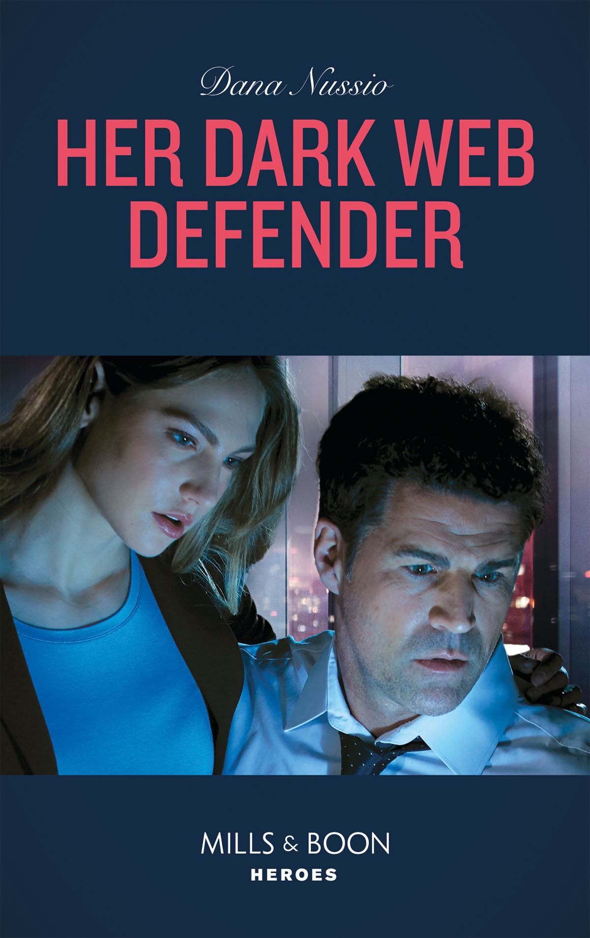 Dana Nussio Her Dark Web Defender beth cornelison tall dark defender
