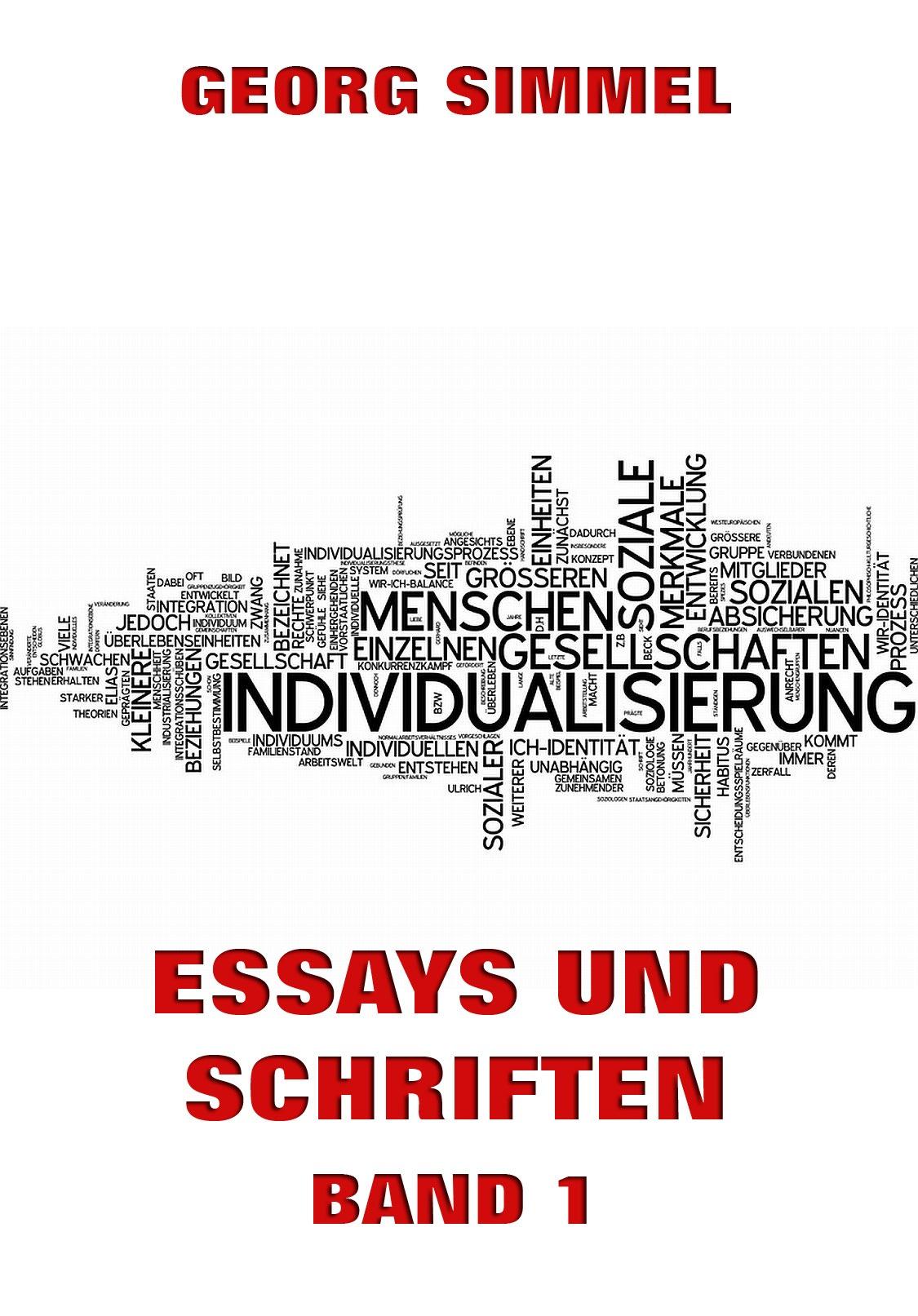 цены Simmel Georg Essays und Schriften, Band 1