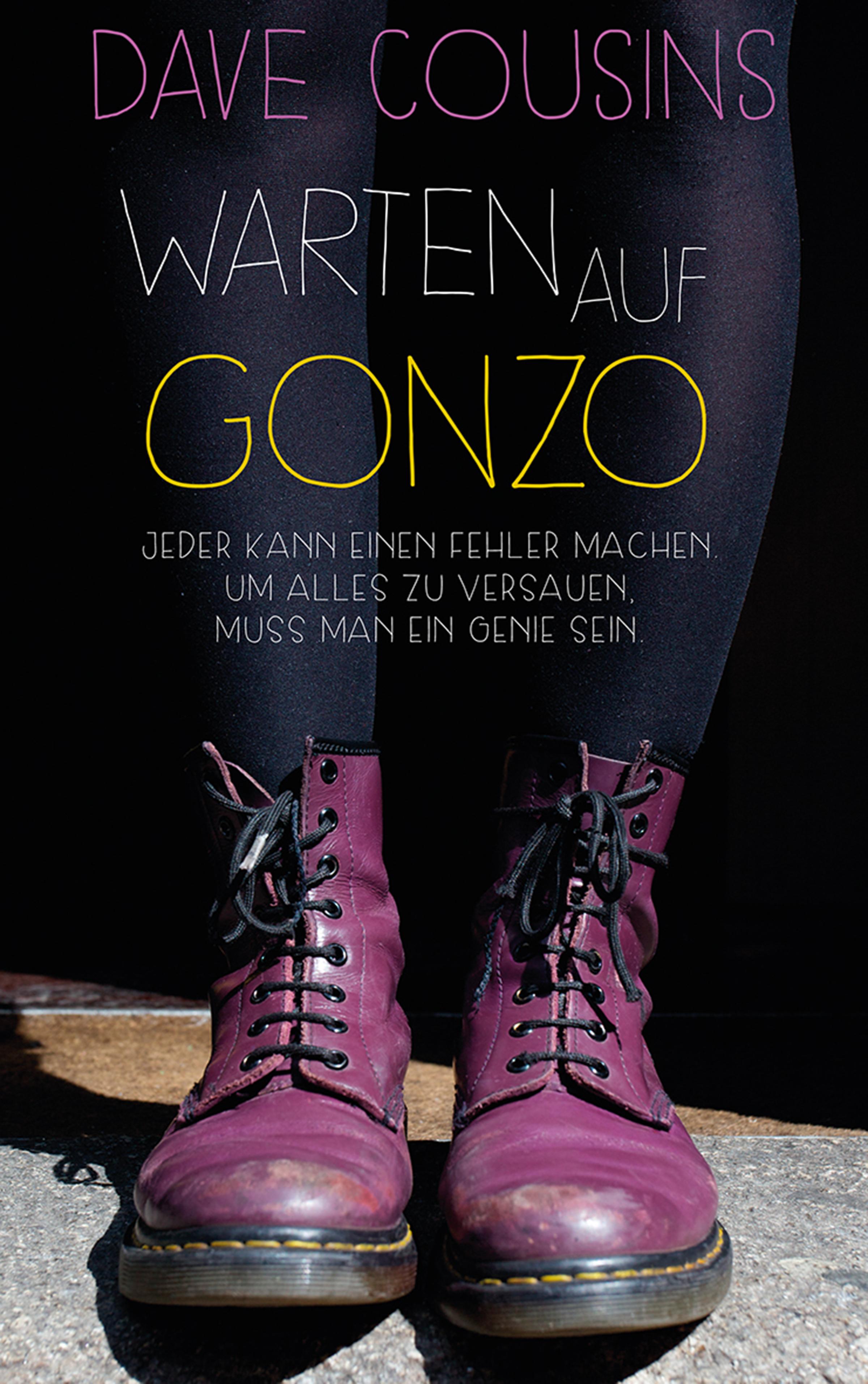Dave Cousins Warten auf Gonzo gonzo judaism