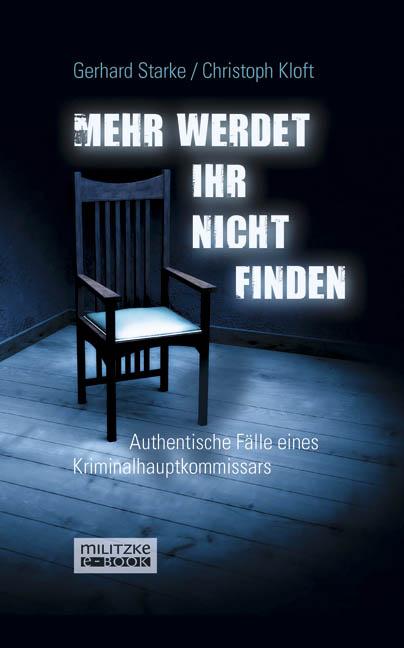 Gerhard Starke Mehr werdet ihr nicht finden c graupner ihr werdet traurig sein gwv 1129 19