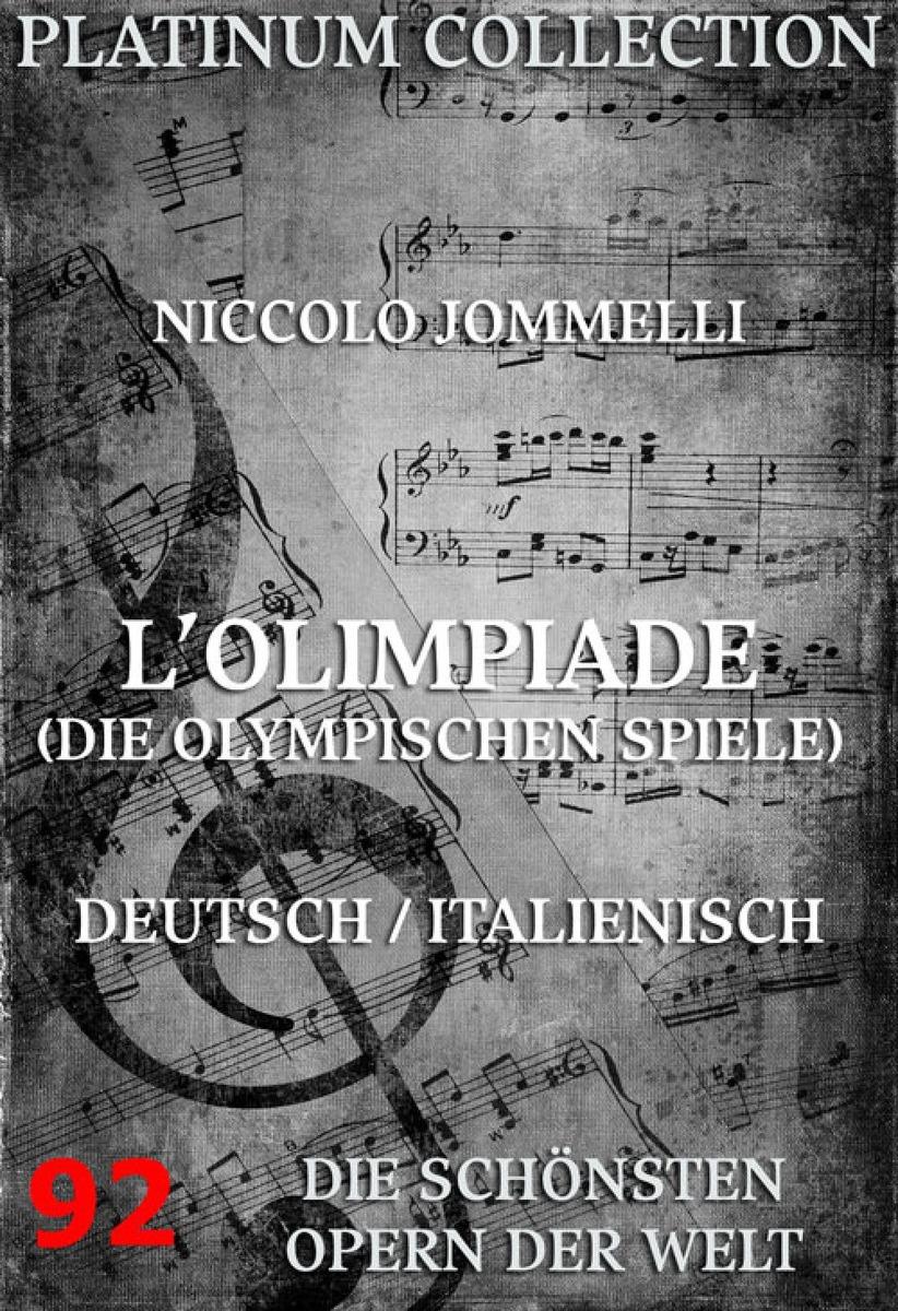 Niccolo Jommelli L'Olimpiade (Die olympischen Spiele) n jommelli care deus si respiro