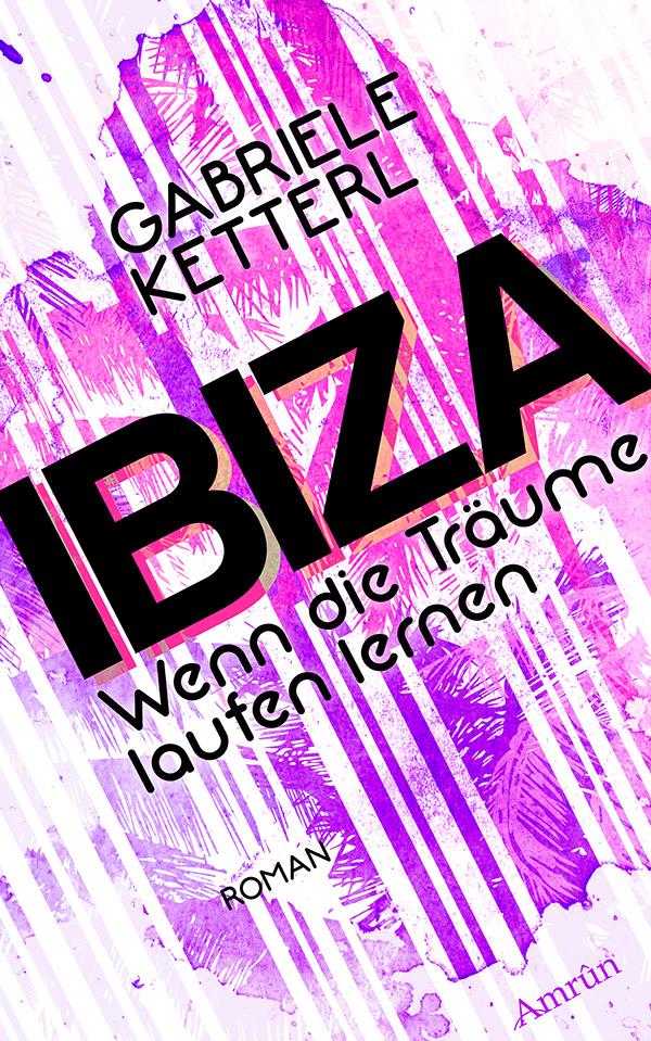 Gabriele Ketterl Wenn die Träume laufen lernen 1: IBIZA lizzie timewarp notebook pink and white striped