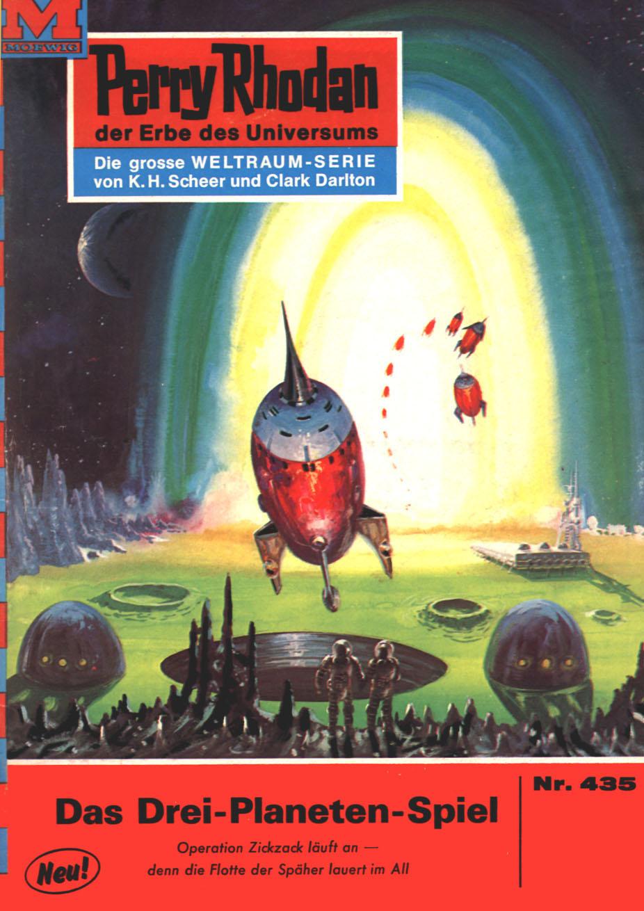 Hans Kneifel Perry Rhodan 435: Das Drei-Planeten-Spiel svante arrhenius das schicksal der planeten