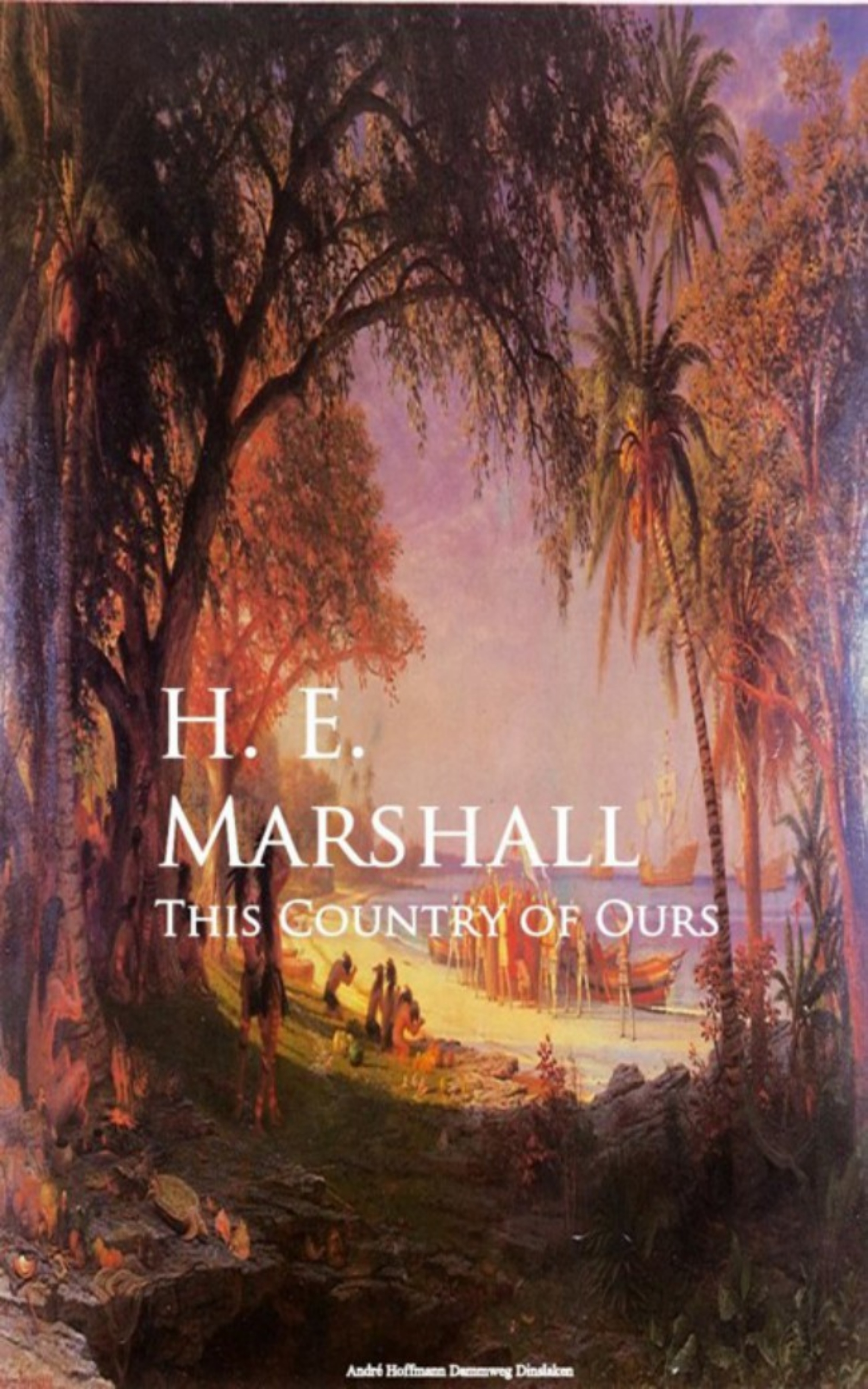 H. E. Marshall This Country of Ours комбинезон mon ours