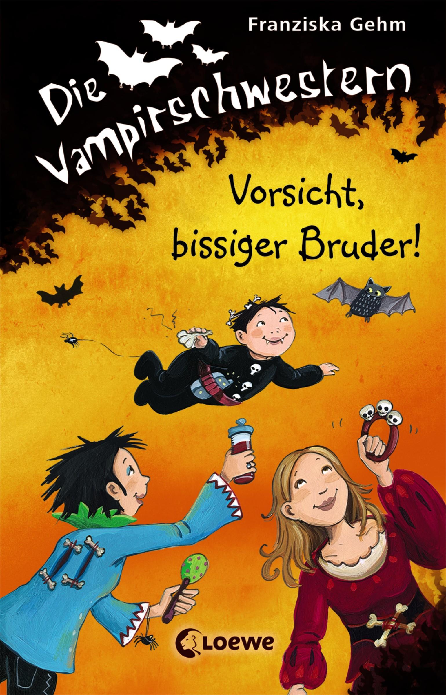 Franziska Gehm Die Vampirschwestern 11 - Vorsicht, bissiger Bruder! alfred hildebrandt die bruder wright