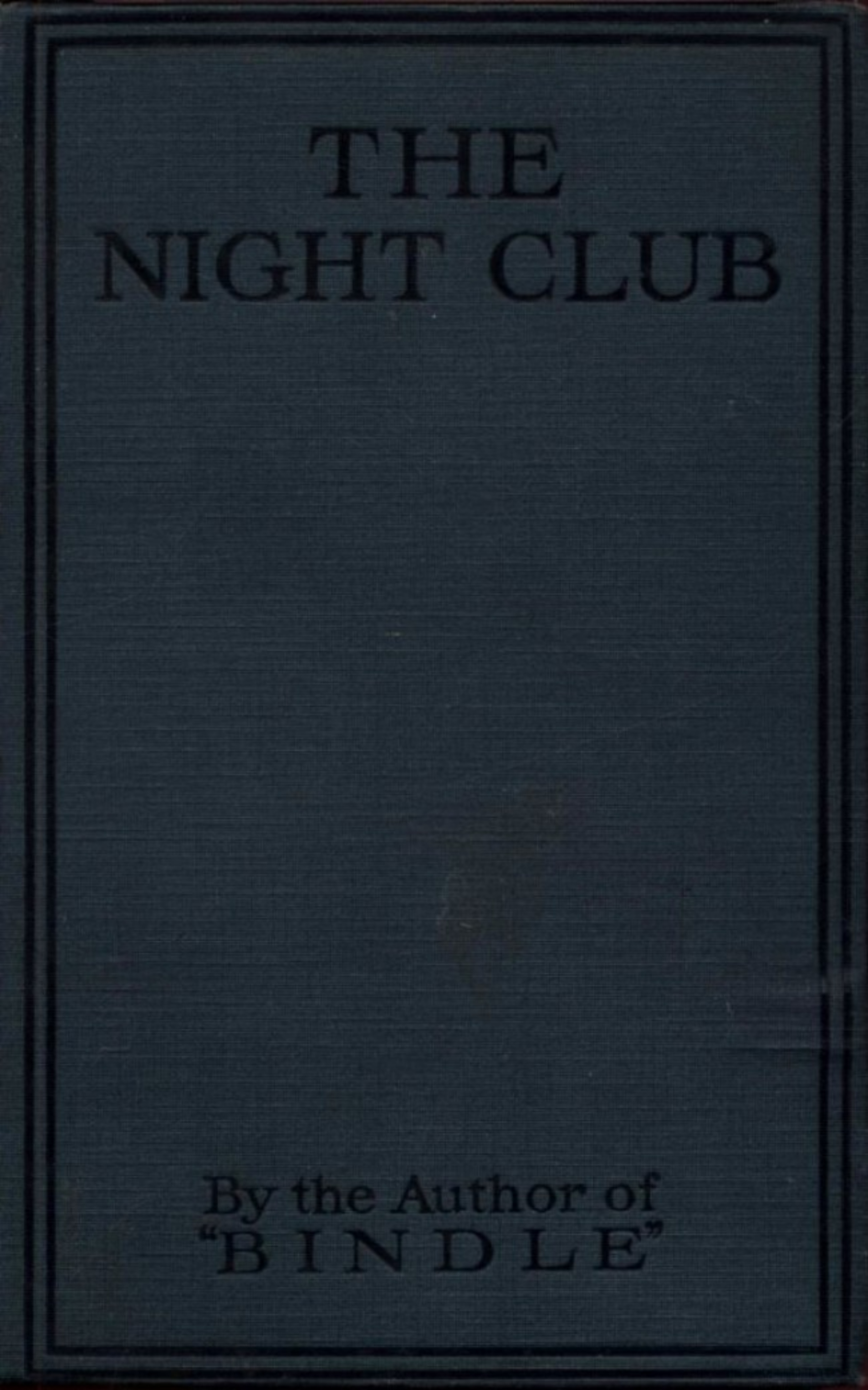 цена на Herbert George Jenkins The Night Club