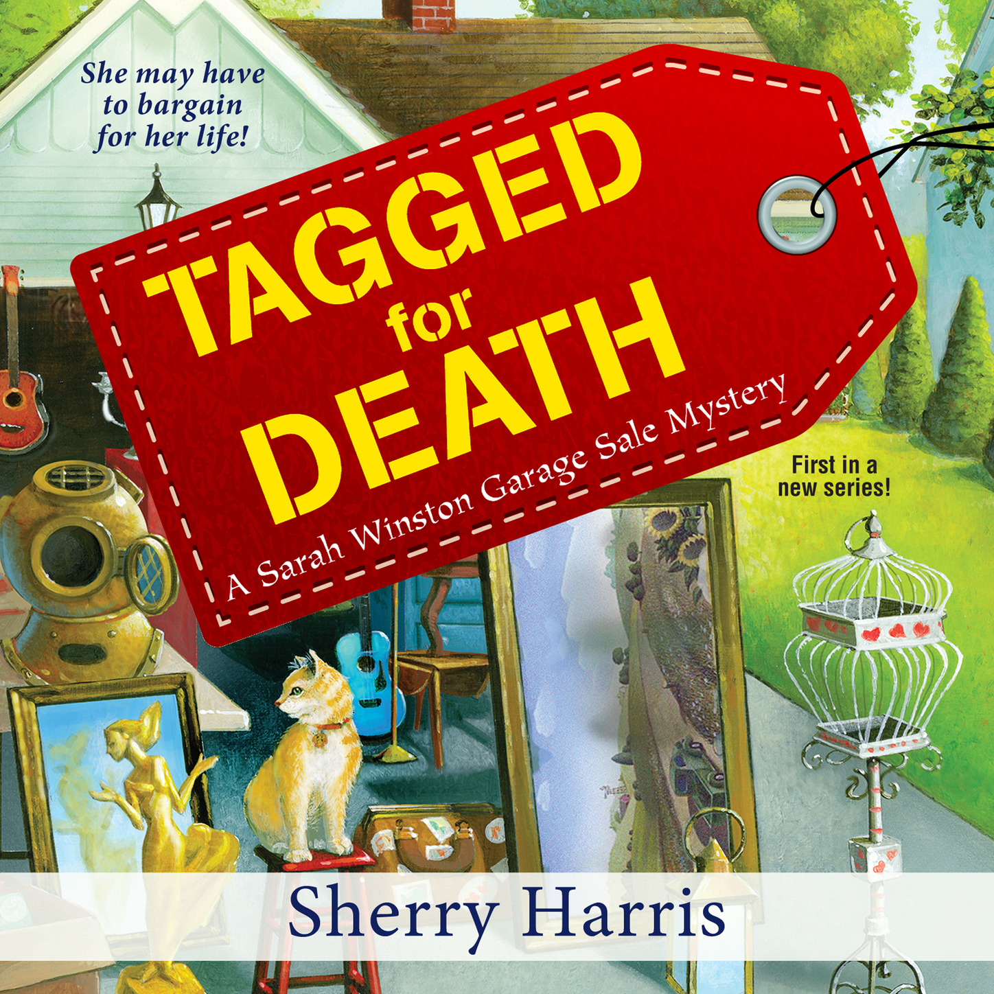 Sherry Harris Tagged for Death - Sarah Winston Garage Sale Mystery 1 (Unabridged) outdoor white inflatable car garage tent with blowers for sale