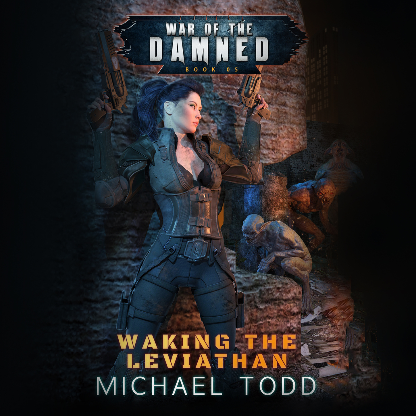 Laurie Starkey S. Waking the Leviathan - War of the Damned, Book 5 (Unabridged) waking beauty