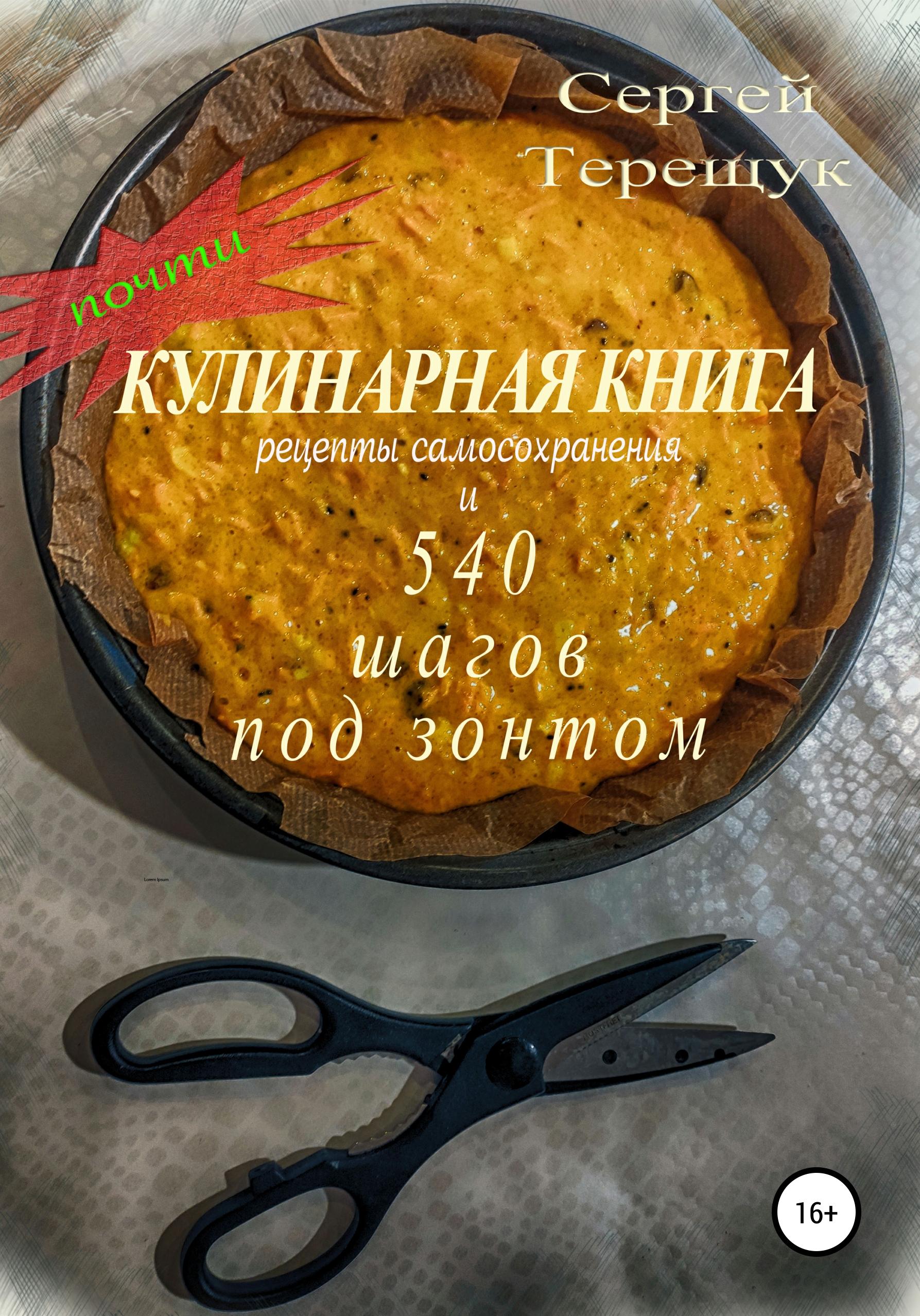Сергей Терещук Не кулинарная книга с рецептами самосохранения