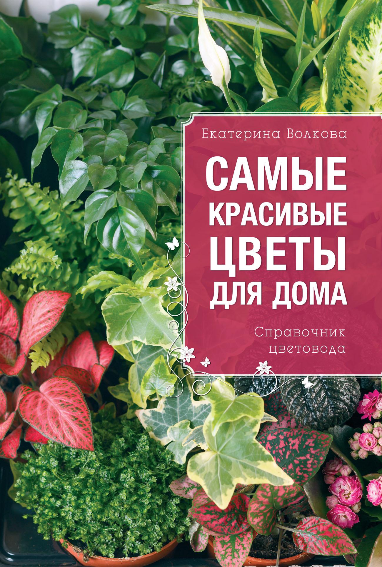 Екатерина Волкова Самые красивые цветы для дома. Справочник цветовода для попугаев полезные комнатные цветы