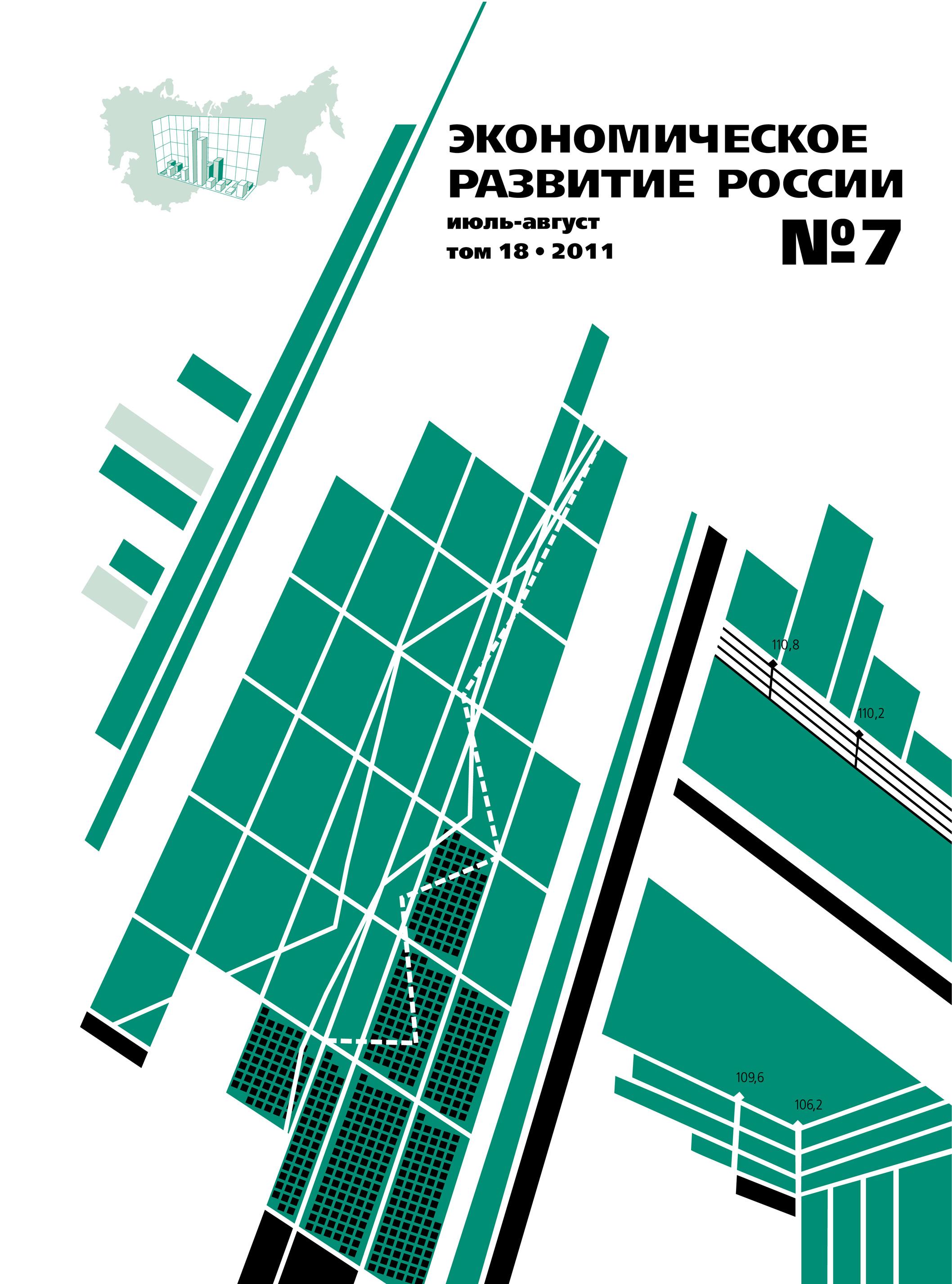 Отсутствует Экономическое развитие России № 7 2011