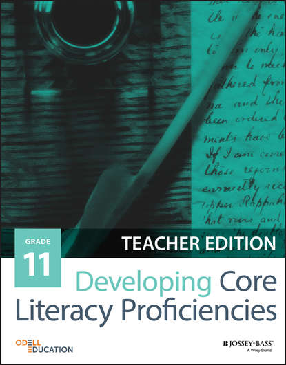 Odell Education Developing Core Literacy Proficiencies, Grade 11 odell education developing core literacy proficiencies grade 10 isbn 9781119193043