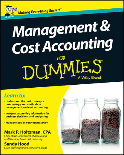 Sandy Hood Management and Cost Accounting For Dummies - UK john tracy a accounting for dummies