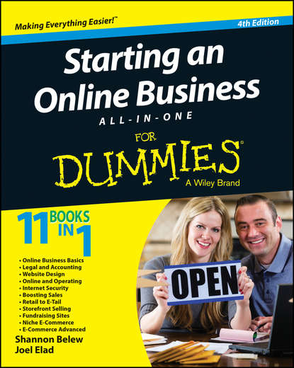 Joel Elad Starting an Online Business All-in-One For Dummies eric tyson starting a business all in one for dummies