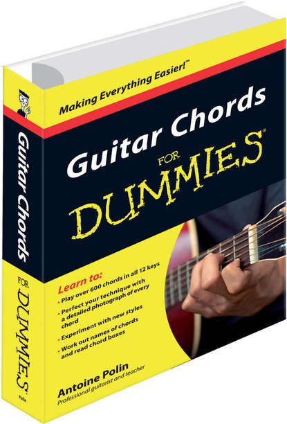 Antoine Polin Guitar Chords for Dummies jon chappell guitar exercises for dummies